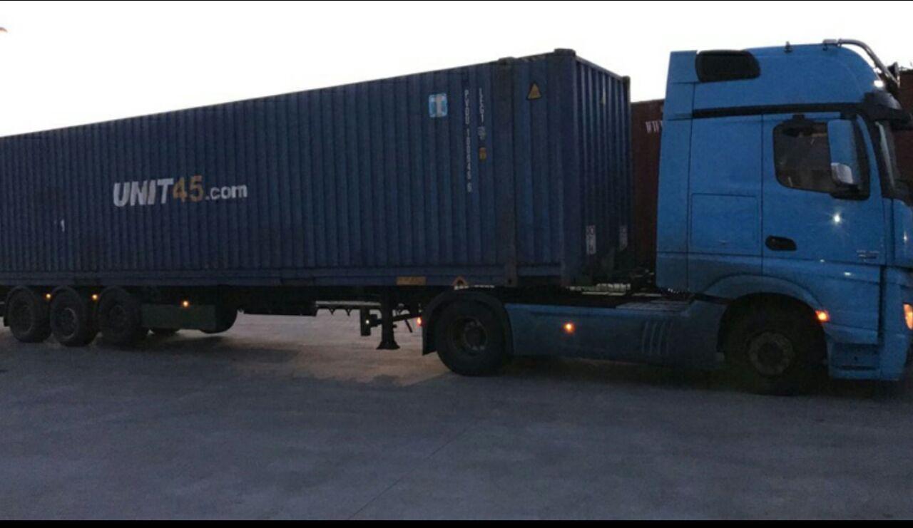 ALMANYA-MERSIN(YENICE) // INTERMODAL TRANSPORT SERVICE