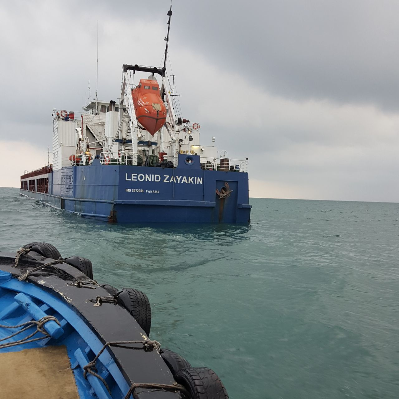 MV LEONID ZAYAKIN- COAL DISCHARGING OPERATIONS AT MERSIN INTERNATIONAL PORT