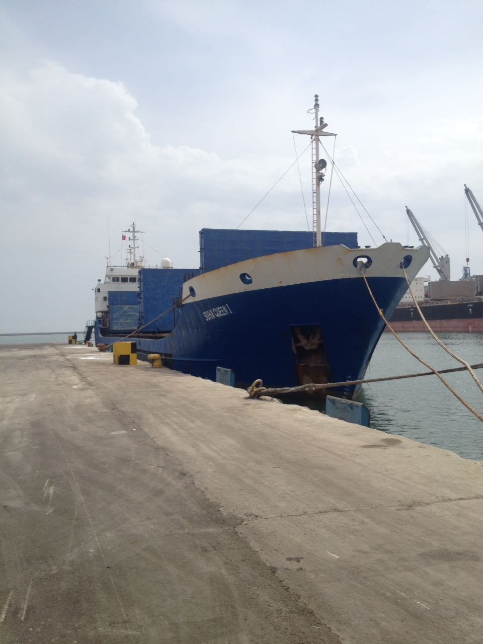 MV SUHA QUEEN I – SODIUM SULPHATE LOADING AT MERSIN INTERNATIONAL PORT