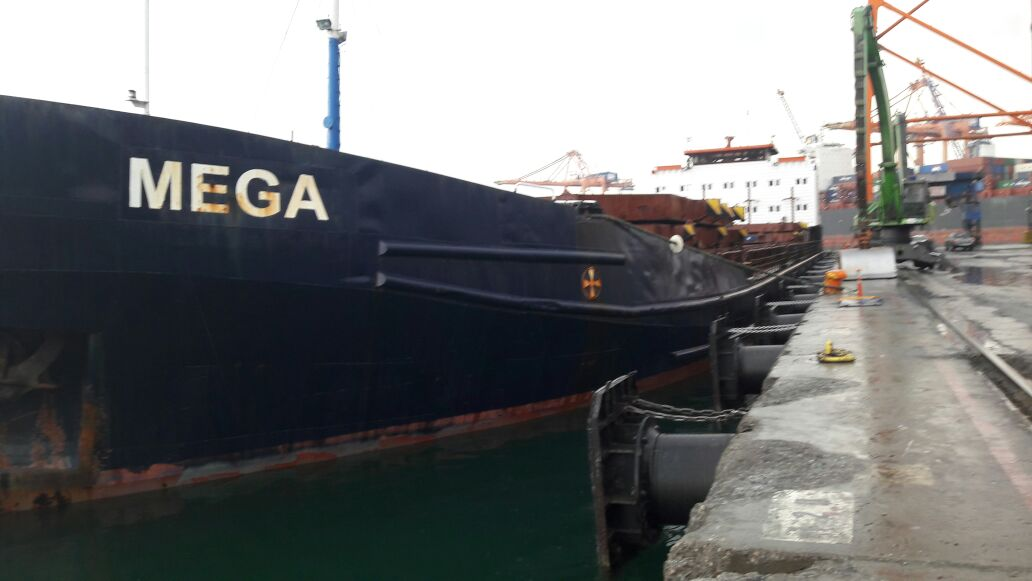 MV MEGA- DISCHARGING OPERATION