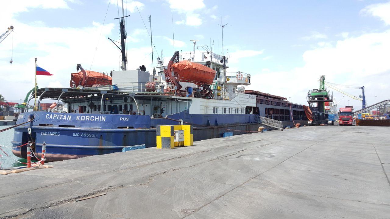 MV CAPITAN KORCHIN- DISCHARGING OPERATION