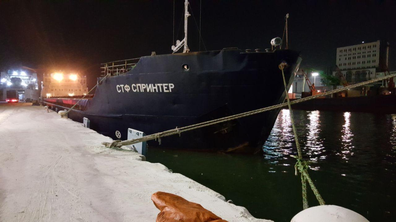 MV STF SPRINTER – DISCHARGING OPERATION