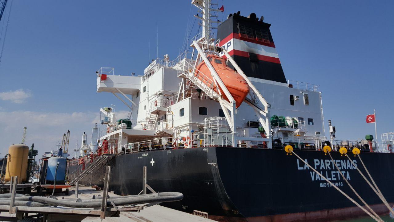 MV LA PARTENAIS – DISCHARGING OPERATIONS