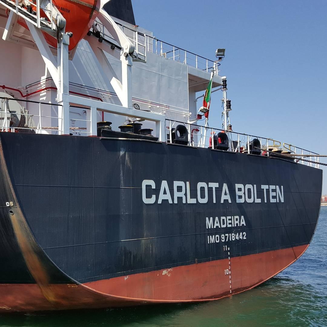 MV CARLOTA BOLTEN – DISCHARGING OPERATION