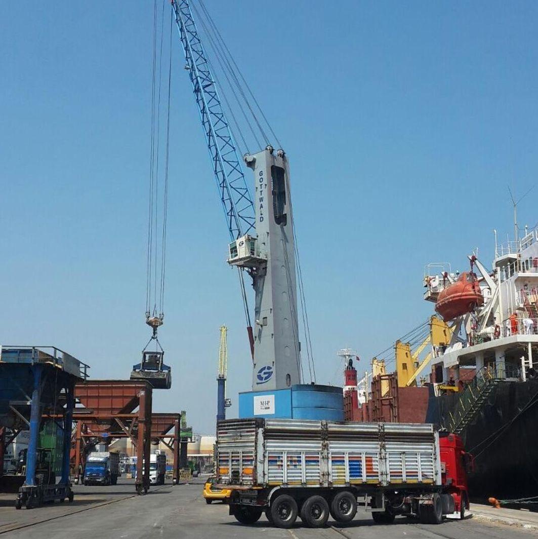 MV OCCITAN BARSAC- DISCHARGING