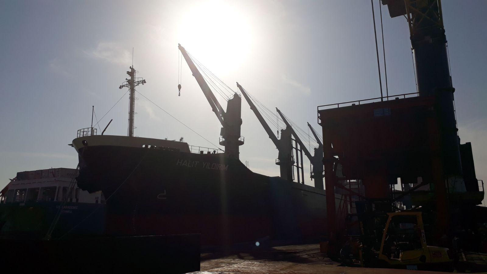 MV HALIT YILDIRIM – DISCHARGING