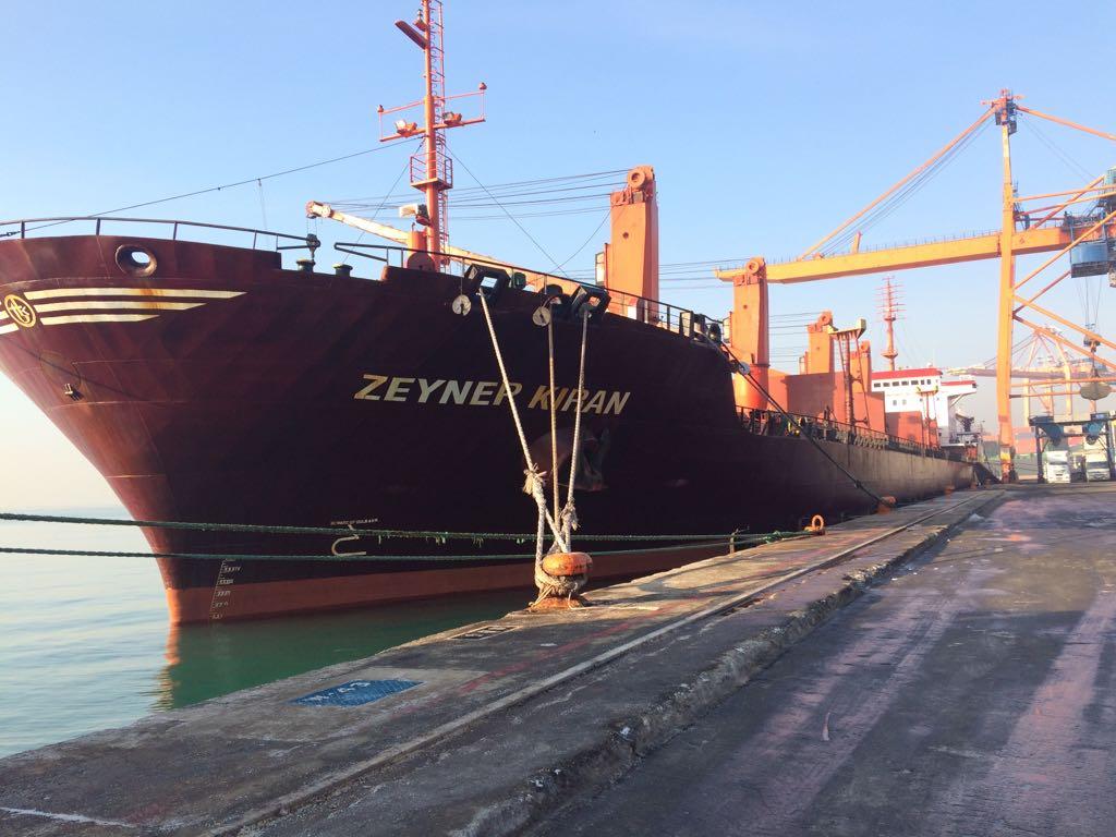 MV ZEYNEP KIRAN- DISCHARGING