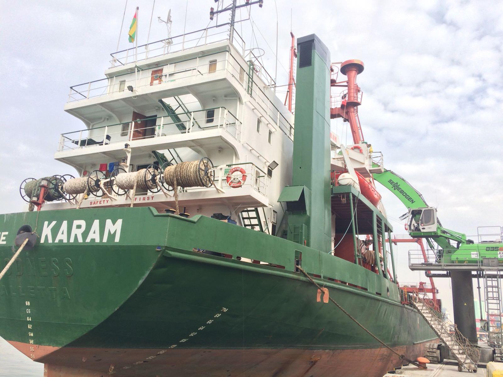 MV KARAM – VOY 1 – LOADING