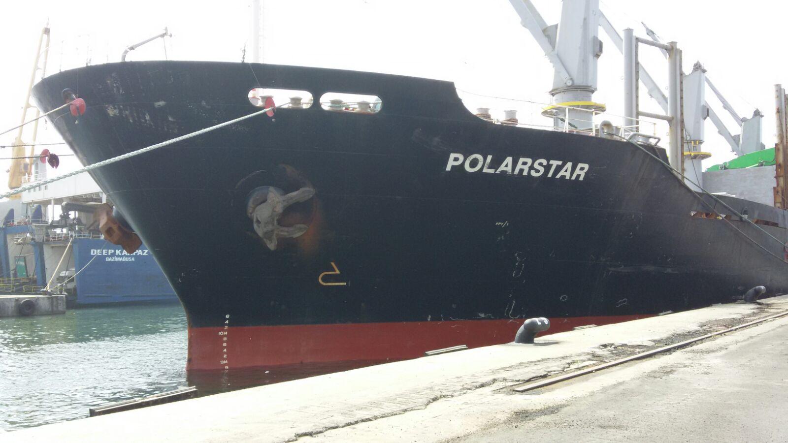 MV POLARSTAR VOY 2 –  DISCHARGING