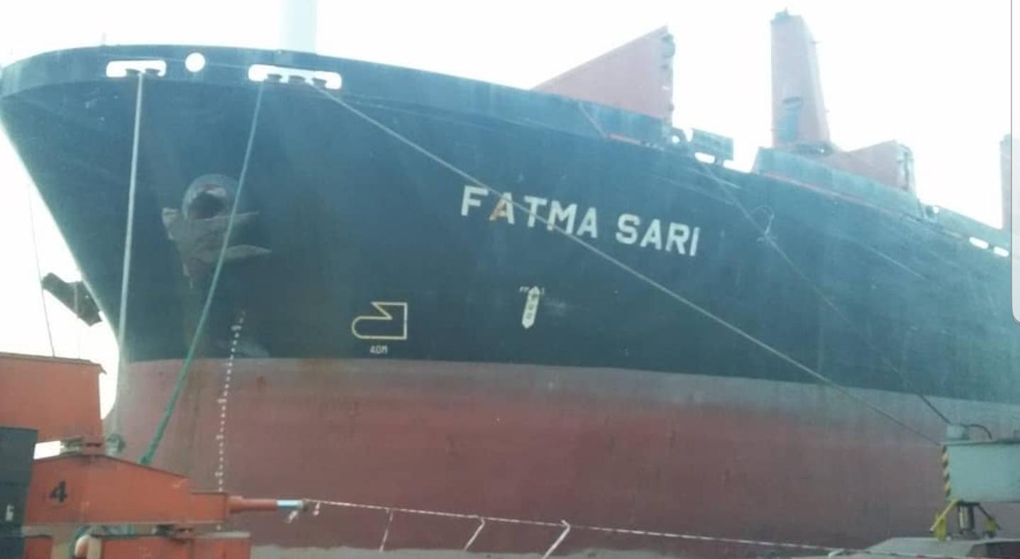 MV FATMA SARI – DISCHARGING