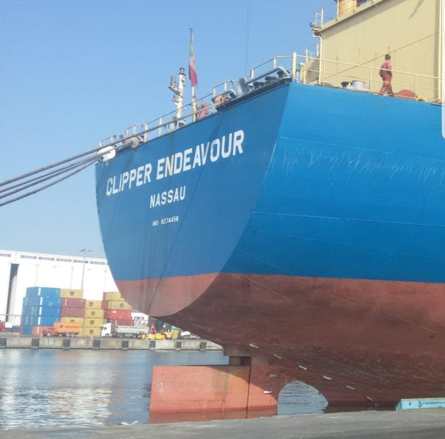 MV CLIPPER ENDEAVOUR – DISCHARGING